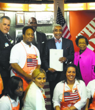 Home Depot & Rep. Rangel