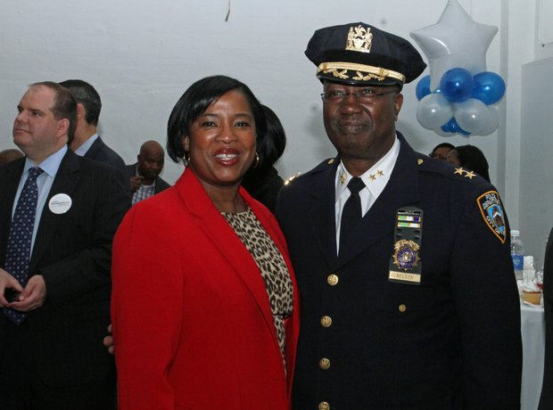 Kim Royster, Chief and Chief Gerald Nelson