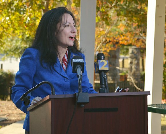 Former DeKalb School Board member Nancy Jester wants to be Georgia's next school superintendent.