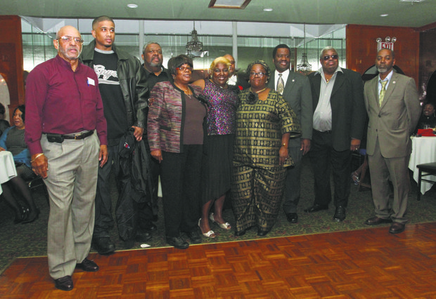 African American In Transit President Paul Waldon and Broad Members