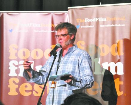 Festival director George Motz