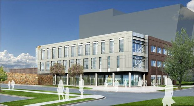 A rendering of Unity Health Care's Parkside Health Center (Courtesy of dcpca.org)
