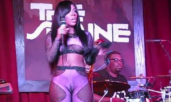 Singer K.Michelle sends social media into fits on a regular basis with her titillating Instagram photos, but an outfit she ...