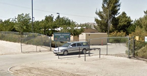 A Palmdale woman was arrested today on suspicion of felony vandalism for allegedly ramming a car into the gate at ...