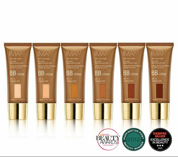 IMAN Skin Tone Evener BB Crème SPF 15….skin care and color combined to even, protect, tone and compliment YOUR skin tones like no other BB Cream ever has!