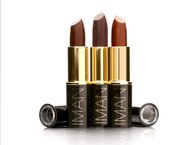 IMAN'S luscious, creamy,lip-color offers  full coverage, and a long-lasting smooth finish.