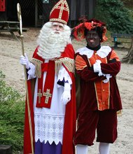 Black Pete and Santa Clause