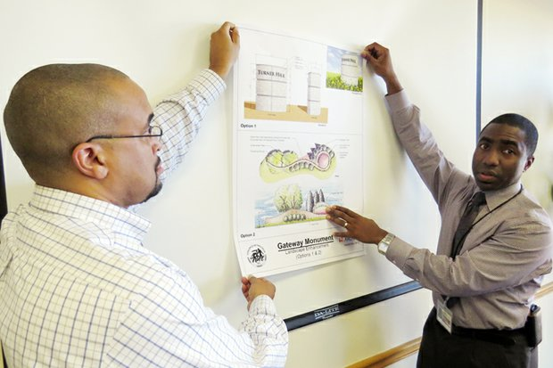 Gordon Burkette, the new director of Keep DeKalb Beautiful, and DeKalb interim CEO Lee May discuss the county's plans to beautify interstate ramps and corridors.