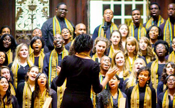 "The Kuumba Singers, led by director Sheldon K.X. Reid, will hold its annual Dr. S. Allen Counter Christmas Concert on Dec. 6 and Dec. 7 at the Memorial Church in Cambridge. The performance is titled, ""Go Tell It!"""
