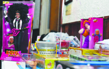 A toy drive at the American Legion in Silver Spring, Md., attracted hundreds of teenagers and young adults during the Holiday Giving Back Celebration on Nov. 15. The charity event honored the late Tamara Johnson.