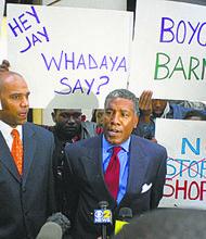 Barneys New York Protests