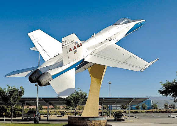 The city of Lancaster has announced the upcoming redesign and modernization of the F/A-18 Hornet display and supporting pedestal located ...