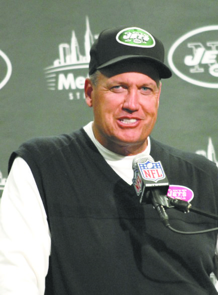 Rex Ryan, come hell or high water, is committed to Geno Smith, his rookie quarterback from West Virginia.