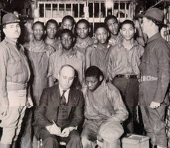 Three of the last Scottsboro Boys—African-American youths falsely accused of raping two white women in 1931—were granted posthumous pardons by ...