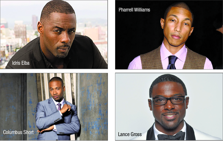 sexy black men in hollywood