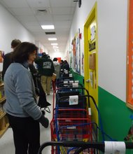 """The Association to Benefit Children (ABC) held its annual """"Turkey Day."""""""