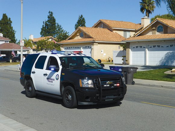 INGLEWOOD (CNS) - Two police officers were shot today in what apparently began as a domestic dispute that led to ...