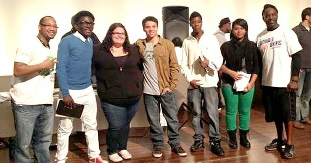 Members of the Fort Worth National Youth Slam Team.