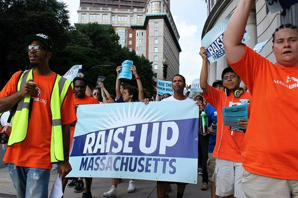 Despite the Mass. Senate's vote to raise the state's minimum wage to $11 an hour, labor activists say they will ...
