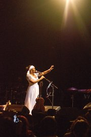 India.Arie's recent concert at The Wilbur thrilled the audience with the singer and musician performing old hits and new songs. The event was the last night of her 29-city U.S. tour.