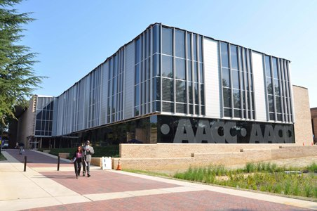 The Andrew G. Truxal Library at Anne Arundel Community College received an Award of Merit from the Philadelphia Chapter of the American Institute of Architects.