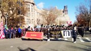 Marian Catholic Marching Band proudly marched in the Macy's Thanksgiving Day Parade on Nov. 28.