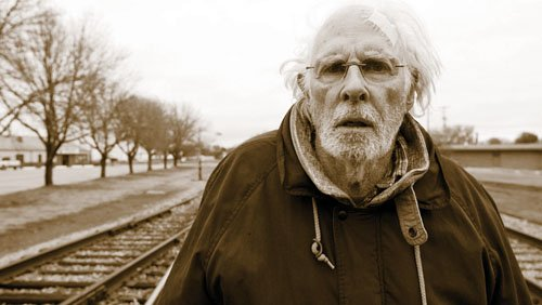 "Bruce Dern stars in the new film ""Nebraska' playing 'Woody' a cantankerous old man who suddenly springs forth a fearsome determination in life."