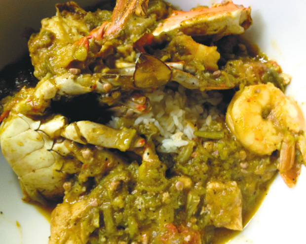 My mother's gumbo