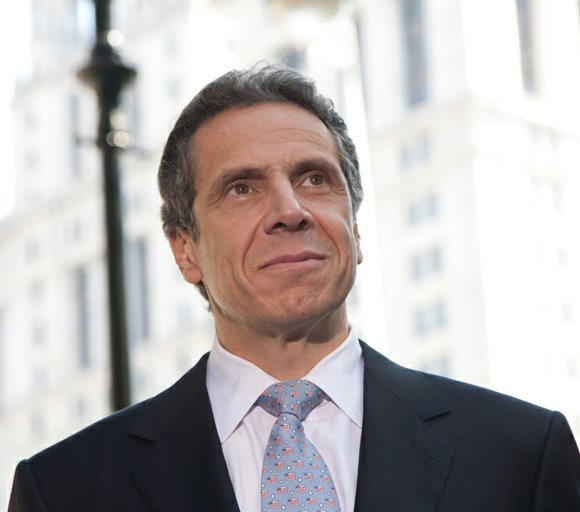 On Wednesday in Albany, New York Gov. Andrew Cuomo laid out state wide plans for tax cuts, universal pre-K, airports, ...
