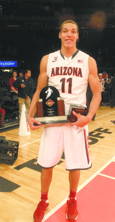 Arizona's Aaron Gordon was named to the NIT's all-tournament team.