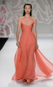 Spring designs by Monique Lhuillier