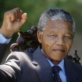 Nelson Mandela, the revered South African anti-apartheid icon who spent 27 years in