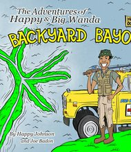 "Bestselling author Happy Johnson released his latest children's book, ""Backyard Bayou,"" on Friday, November 29, 2013."