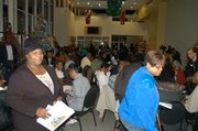 About 130 residents from throughout  DeKalb attended the Dec. 2 governance forum at the Porter Sanford III Center in Decatur.