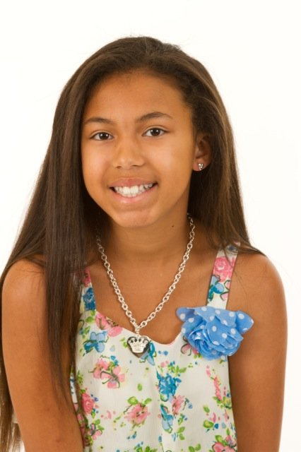 This weekend Nola Edwards will compete in the Miss Jr. Teen Houston Pageant on Sunday, December 8, 2013.