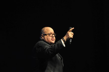 Fred Hammond performs at the Evangel Cathedral's Christmas Celebration 2013 in Upper Marlboro, Md., on Saturday, Dec. 7.
