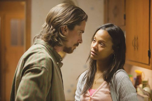 Christian Bale and Zoë Saldana star in 'Out of the Furnace,' the new feature film about working class characters chafing against the failure of the American Dream.