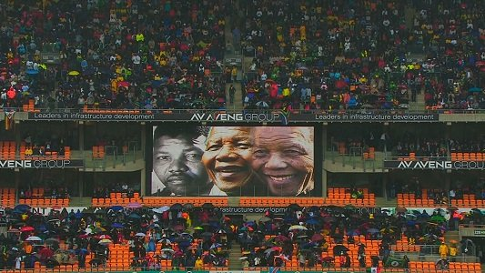 They gathered in the tens of thousands -- presidents, prime ministers, royals, celebrities and ordinary South Africans -- all united ...