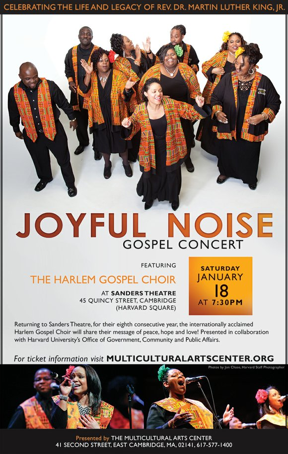 Enter our drawing to win a pair of tickets to the upcoming Joyful Noise Concert at the Sanders Theatre in ...