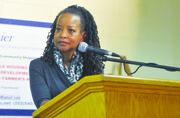 Washington Informer Publisher Denise Rolark Barnes served as moderator for the Ward 5 Mayoral Forum on Dec. 5.