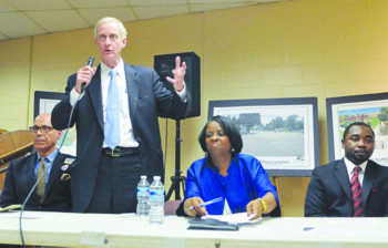 Six contenders for the Tuesday, Apr. 1 Democratic Party's mayoral nomination stated their cases during a forum that can best ...