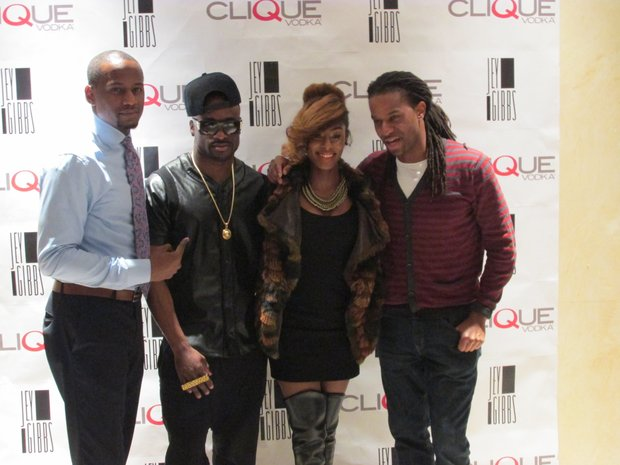 (L to R) Mic Barber, Jey Gibbs, Mo Brown Suga and DJ Spynfo