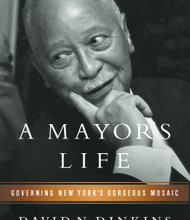 A Mayors Life by David Dinkins