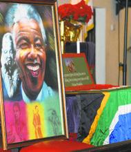 Nelson Mandela memorialized in Harlem