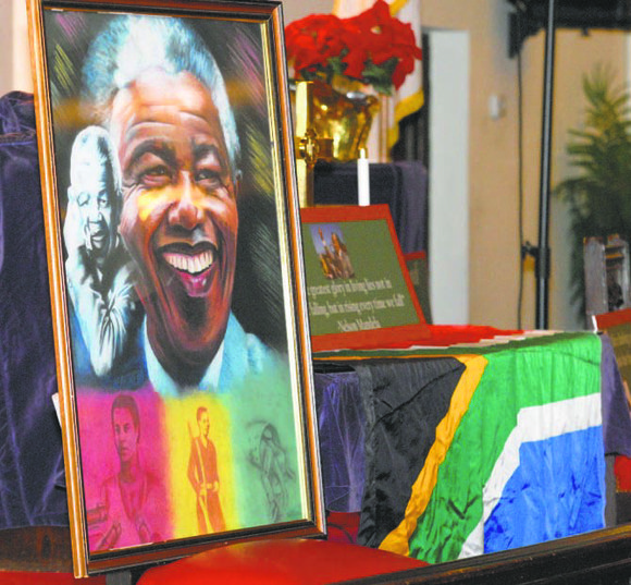 Mandela memorialized in Harlem