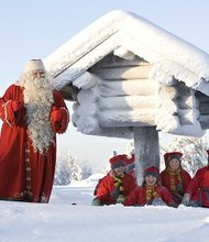 For Finns, Rovaniemi's location just north of the Arctic Circle is Christmas headquarters. Children make gingerbread cookies with Mrs. Claus, enroll in Elf School and write wish lists with a traditional quill.