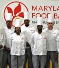 Graduates from the Maryland Food Bank's culinary training program include: Brandy Brown, Teneisha Brown, Briana Coley, Kenneth Dunn, Marc Freeman, Donaha Gervin, Erica Graham, Daniel Johnson, Andrea Kelly, Shanel Robinson, Paul Royal and Jasmine Shaw.