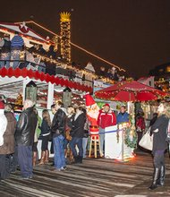 """Watermark's Harbor Queen will again host the """"Queen of All Food Drives"""" to benefit the Anne Arundel County Food Bank. Watch the Eastport Yacht Club Parade of Lights on Harbor Queen in exchange for a donation."""