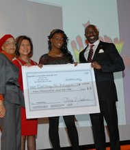 Brittany B. Player, second place scholarship winner