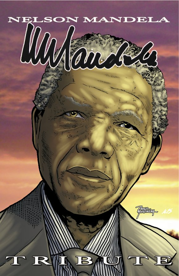 Bluewater Productions is releasing a new tribute comic book biography on the iconic Nelson Mandela. Tribute: Nelson Mandela is being ...